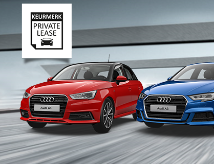 Actie: Audi Private Lease