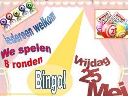 Bingo wijkvereniging Stadsdennen/Franrkijk