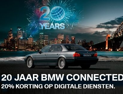 20 Jaar BMW connecteddrive
