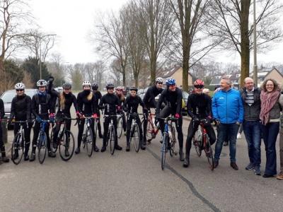 Leerlingen Slingerbos fietsten naar Tsjechië