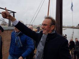 Wethouder Pieter Teeninga neemt vanavond afscheid van de politiek