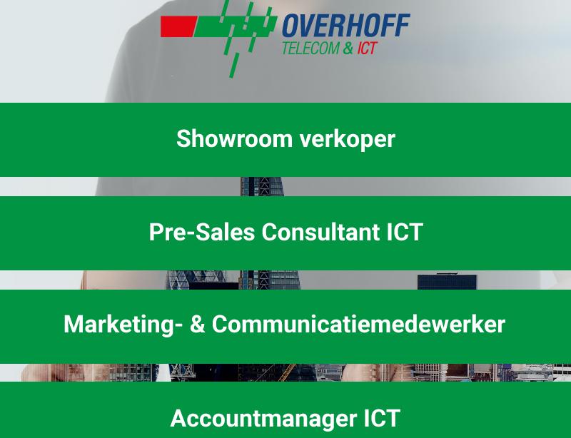Overhoff Telecom en ICT op zoek naar nieuwe collega's!