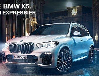 De nieuwe BMW X5 krachtig en expressief