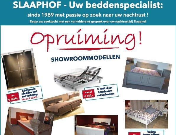 De opruiming is begonnen bij Slaaphof Harderwijk