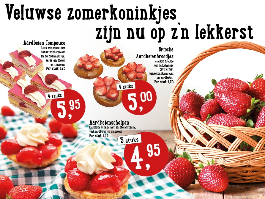 Veluwse zomerkoninkjes zijn nu op z'n lekkerst!