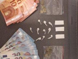 Drugsdealer in Ermelo opgepakt tijdens een transactie