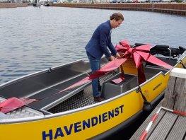 Nieuwe boot voor havenmeesters Harderwijk