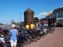 Fietsen in de binnenstad parkeren op aangewezen plekken