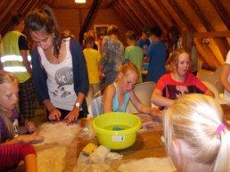 Workshop leren vilten met schapenwol