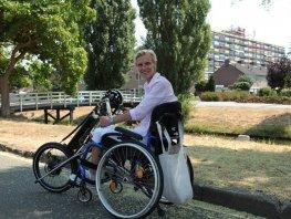 Harderwijkse genomineerd als meest inspirerende Nederlander met een beperking.