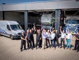 Apeldoorn en Harderwijk vallen in de prijzen met de beste trucks service