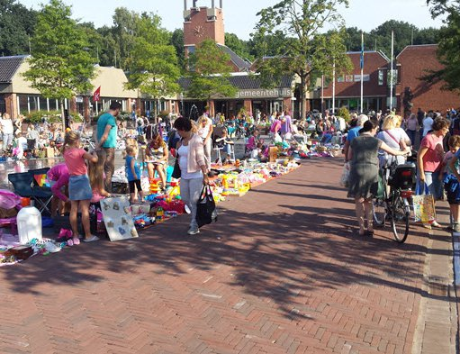 Jaarmarkt, Kinderkleedjesmarkt en Eat'n Beat in Ermelo