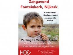 Concert in Nijkerk voor winterhulp in Oost-Europa