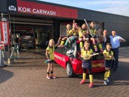 MHC de Mezen start met Kok Carwash een wasactie voor een gezellige inrichting van het clubhuis!