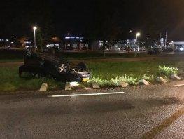 Eenzijdig ongeval Groene Zoomweg