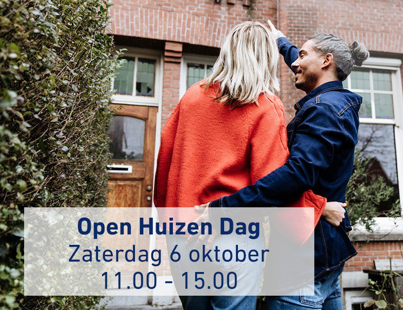 Open Huizen Dag op zaterdag 6 oktober 2018