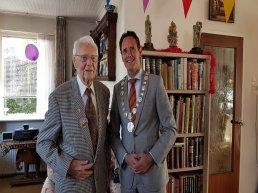 De heer Setz viert zijn 100ste verjaardag
