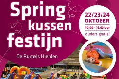 Springkussenfestijn in De Rumels