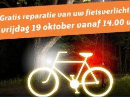 Laat gratis uw fietsverlichting maken
