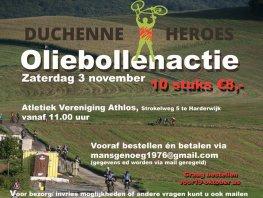 Oliebollen actie voor Duchenne!