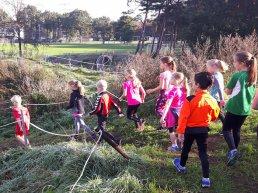 De jeugd kan de herfstvakantie afsluiten met een obstakel cross