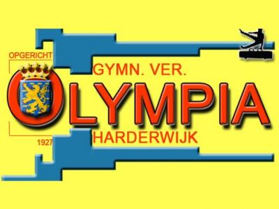 Oefenwedstrijd dames turnselectie G.V. Olympia
