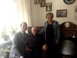 Hendrik en Aartje Hoeven 65 jaar getrouwd!