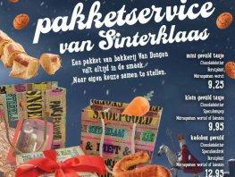 Pakketservice van Sinterklaas
