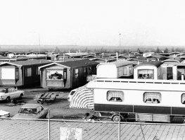 Herinner je je Harderwijk: Hierden: Kleine Mheenweg, Woonwagenkamp