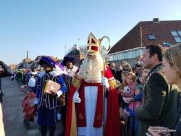 Foto's van de intocht van Sinterklaas in Harderwijk