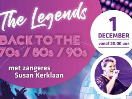 Legends avond in Sportcafé de Rumels