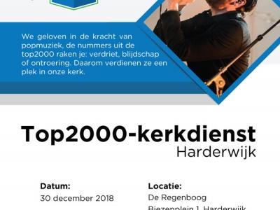 5e TOP2000-kerkdienst Harderwijk | kom jij ook?