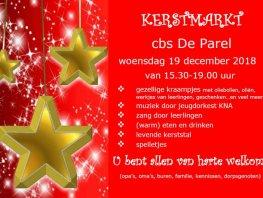 Kerstmarkt op basisschool De Parel