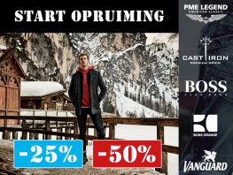 Germano Menswear start met de winteropruiming!