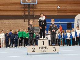 Prijzen regen voor turners Olympia Harderwijk