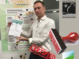 SIGHT Landscaping behaalt Kiwa NEN veilig Bewust certificaat veiligheidsladder versie 4.0 trede 3