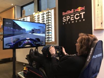 Kom F1-racen bij Klopman optiek