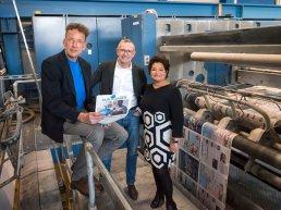 Allereerste uitgave Nieuwe Kijk op Zaken Harderwijk valt op de mat