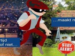 Aantal woninginbraken historisch laag in Harderwijk