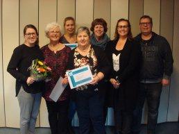 Diploma's voor vrijwilligers Stichting Thuishuis