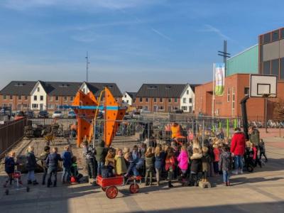 Nieuw groen schoolplein voor Basisschool Het Startblok