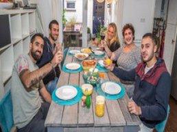 Gastgezinnen gezocht voor vluchtelingen Meet & Eat
