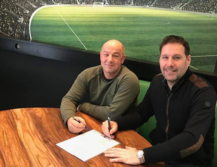Henri Brink nieuwe hoofdtrainer v.v. Hierden