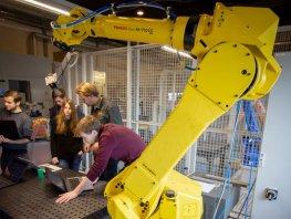 De Robotschool/uitdagingen van Landstede