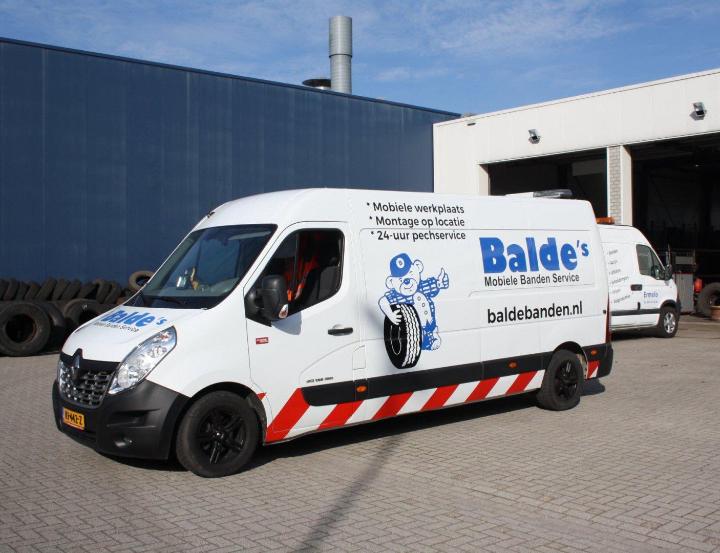 Balde's Banden Service Ermelo is op zoek naar enthousiast personeel!