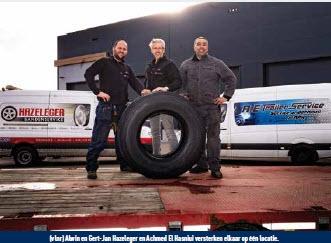 Complete service voor trucks en trailers