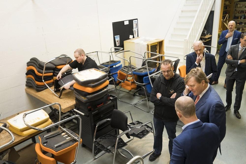 Koning Willem-Alexander op bezoek in Harderwijk 3
