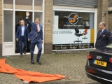 Koning Willem-Alexander op bezoek in Harderwijk