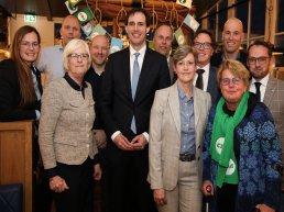 Bezoek minister van Financiën Wopke Hoekstra aan Harderwijk