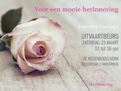 """Uitvaartbeurs  """"Voor een mooie Herinnering"""" 23 maart 2019"""